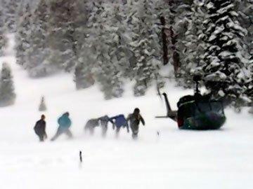 Snöskredet