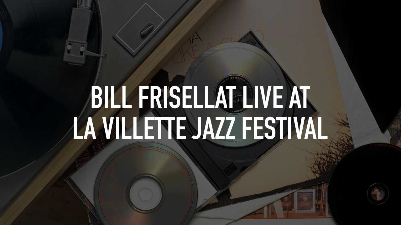 Bill Frisellat Live at La Villette Jazz Festival