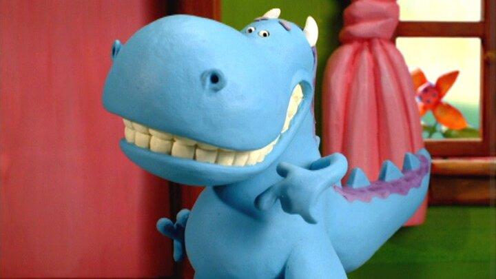 Lilla blåa draken
