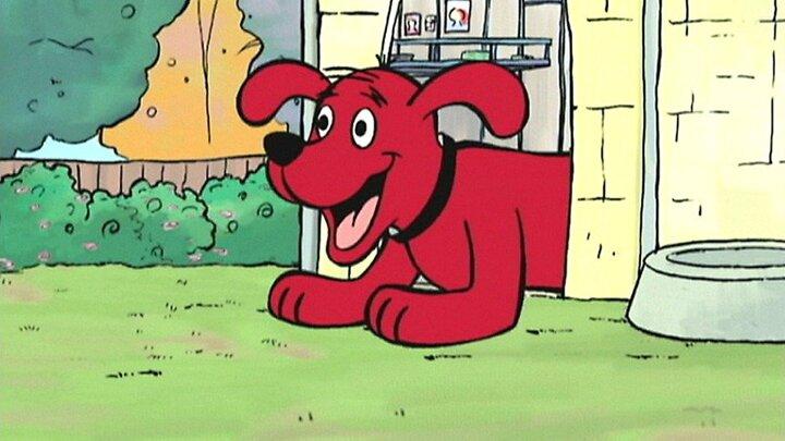 clifford den stora röda hunden