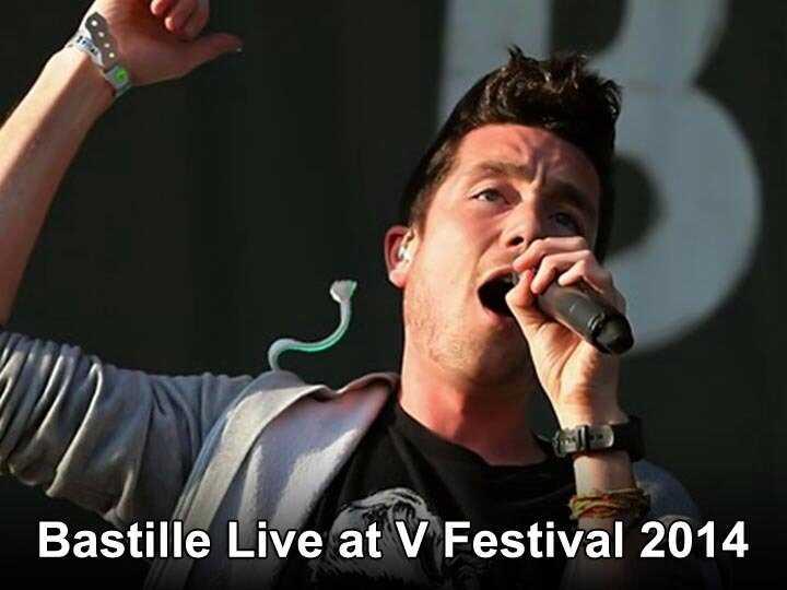Bastille Live  V Festival 2014