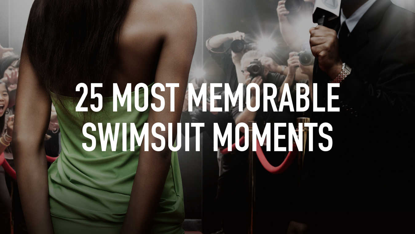25 Most Memorable Swimsuit Moments