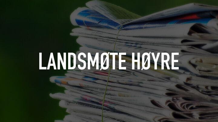 Landsmøte Høyre