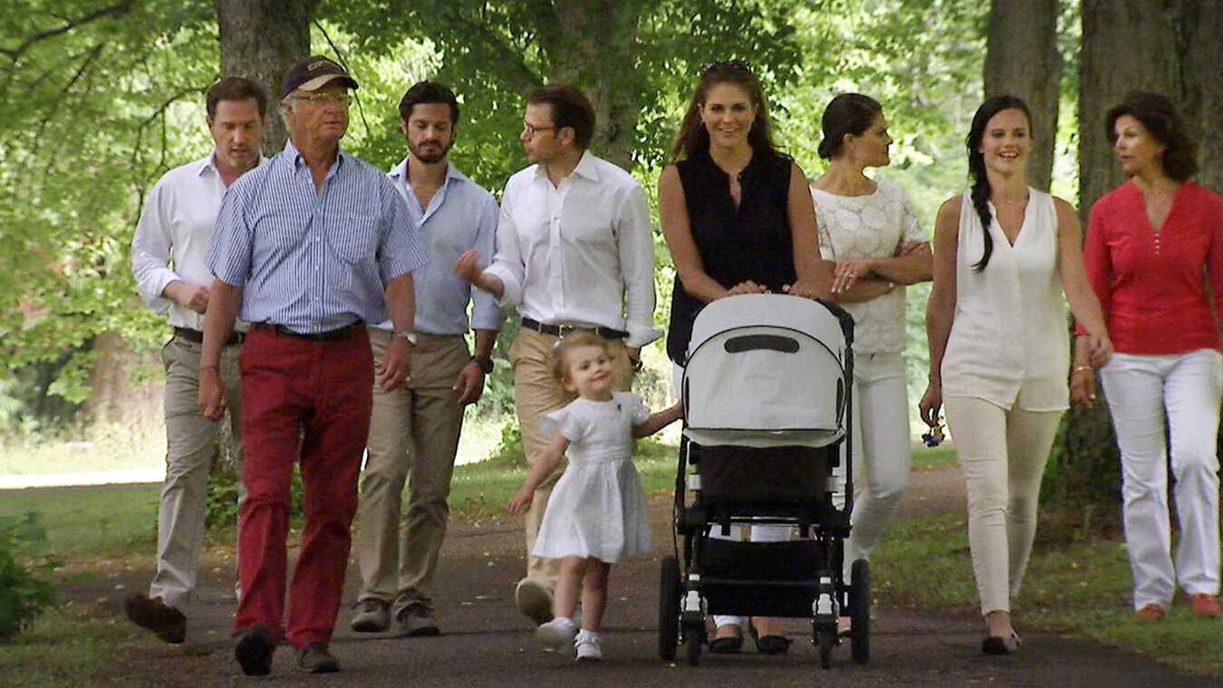 Året med den svenske kongefamilie 2014