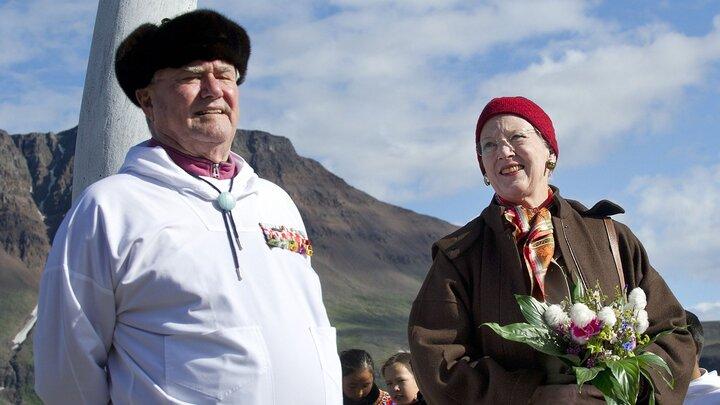 Kongelig sommer i Grønland