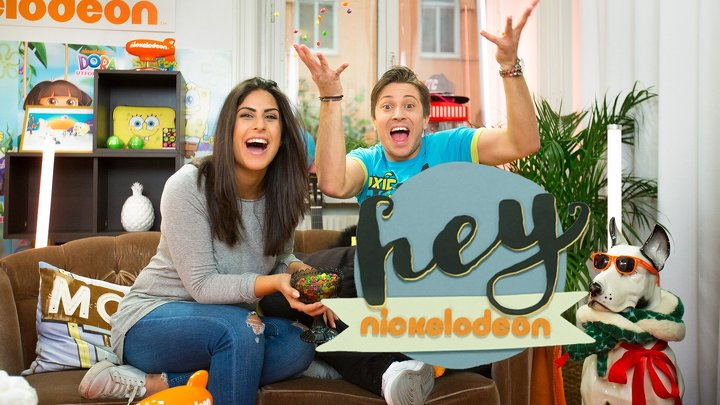 Hey Nickelodeon Med Bea & Hampus