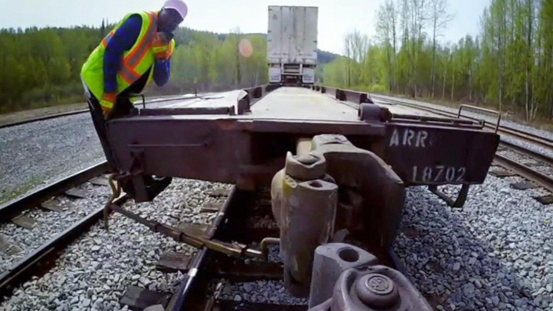Alaskas järnväg