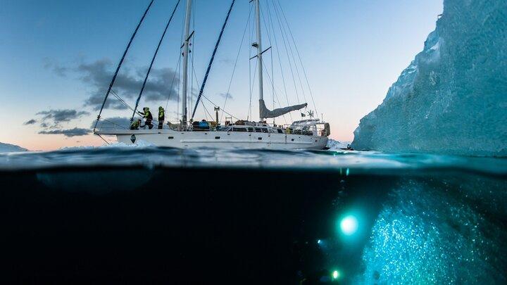 Att dyka under isberget