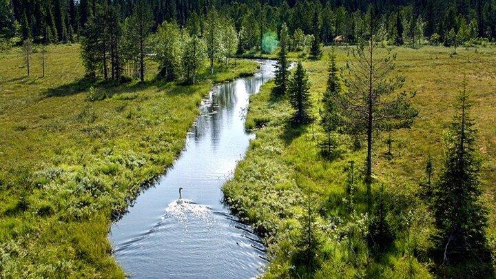 Finland från ovan