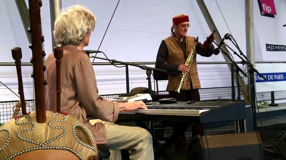 Hadouk Trio at Paris Jazz Festival