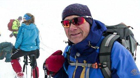 Andreas till Galdhøpiggen