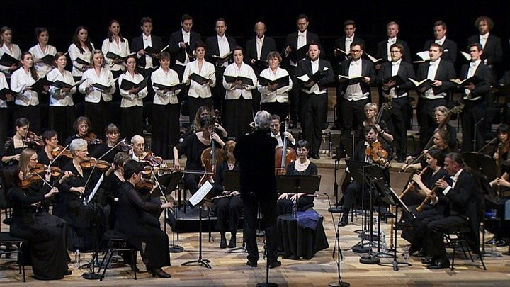 John Eliot Gardiner Conducts Bach's Mass In B Minor