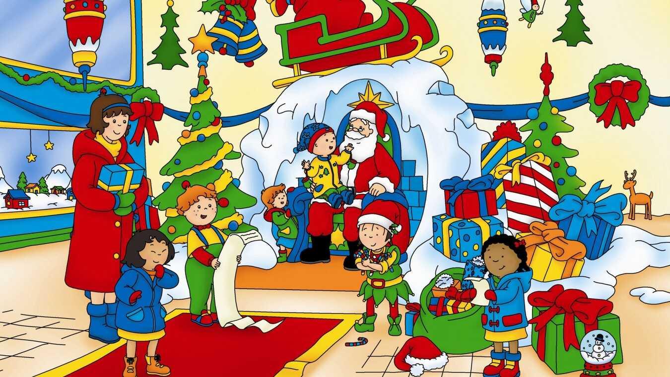 Caillou Weihnachten.Weihnachten Mit Caillou Pa Super Rtl Lor 24 Dec 06 45