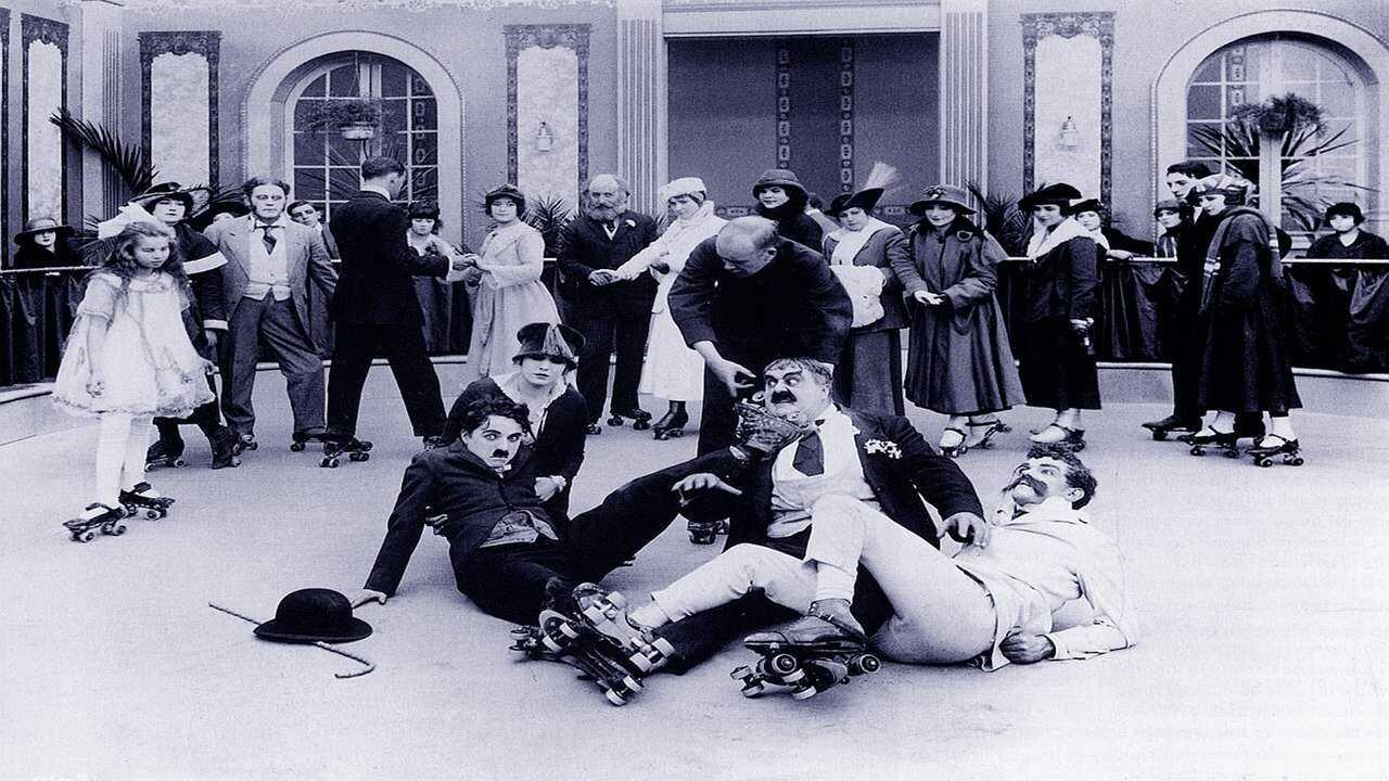 Chaplin på rullskridskor
