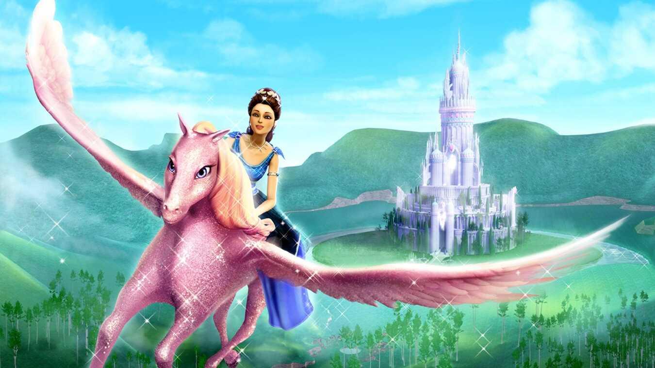 Barbie och diamantslottet - sv.tal