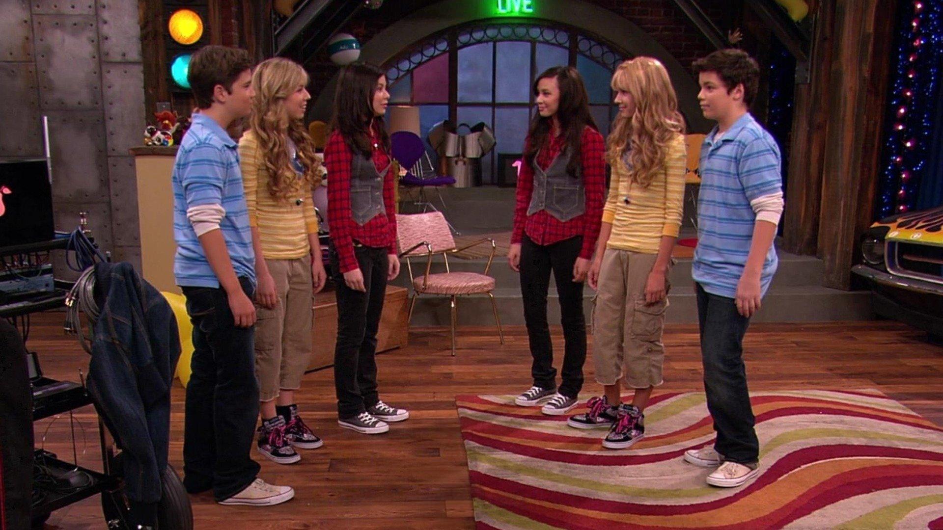 episoder av iCarly där Sam och Freddie dejtar