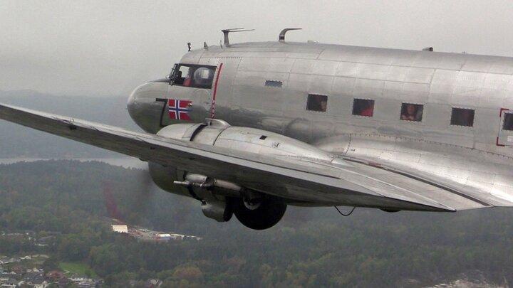 DC-3:an i Sandefjord
