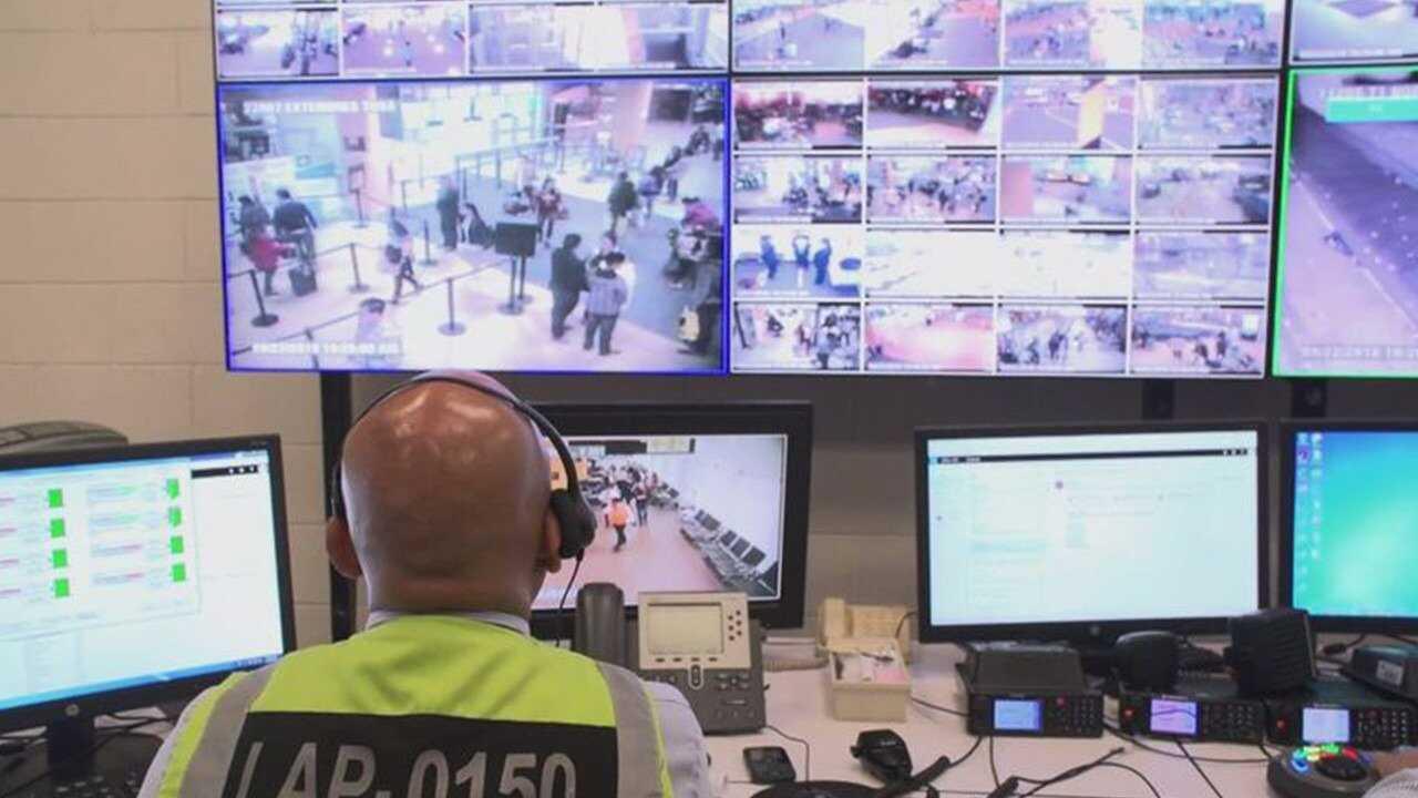 Säkerhetskontrollen i Peru