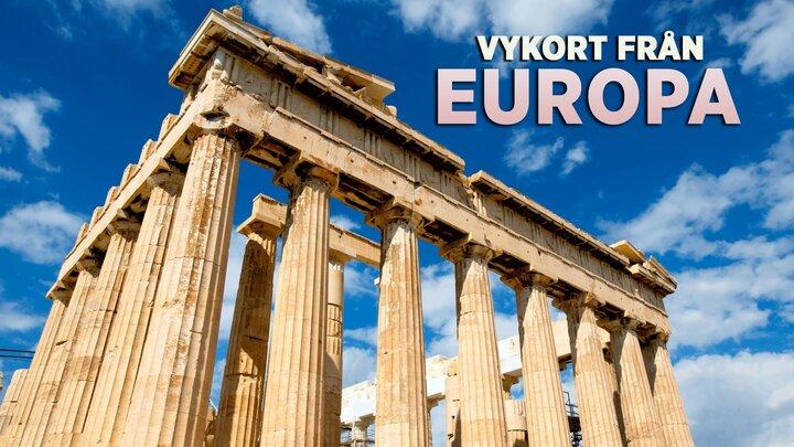 Vykort från Europa
