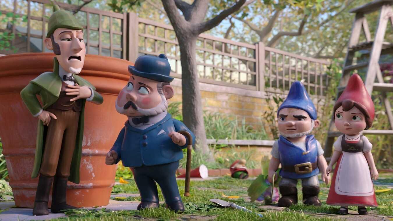 Mästerdetektiven Sherlock Gnomes - sv.tal