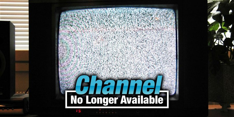 Channel No Longer Available