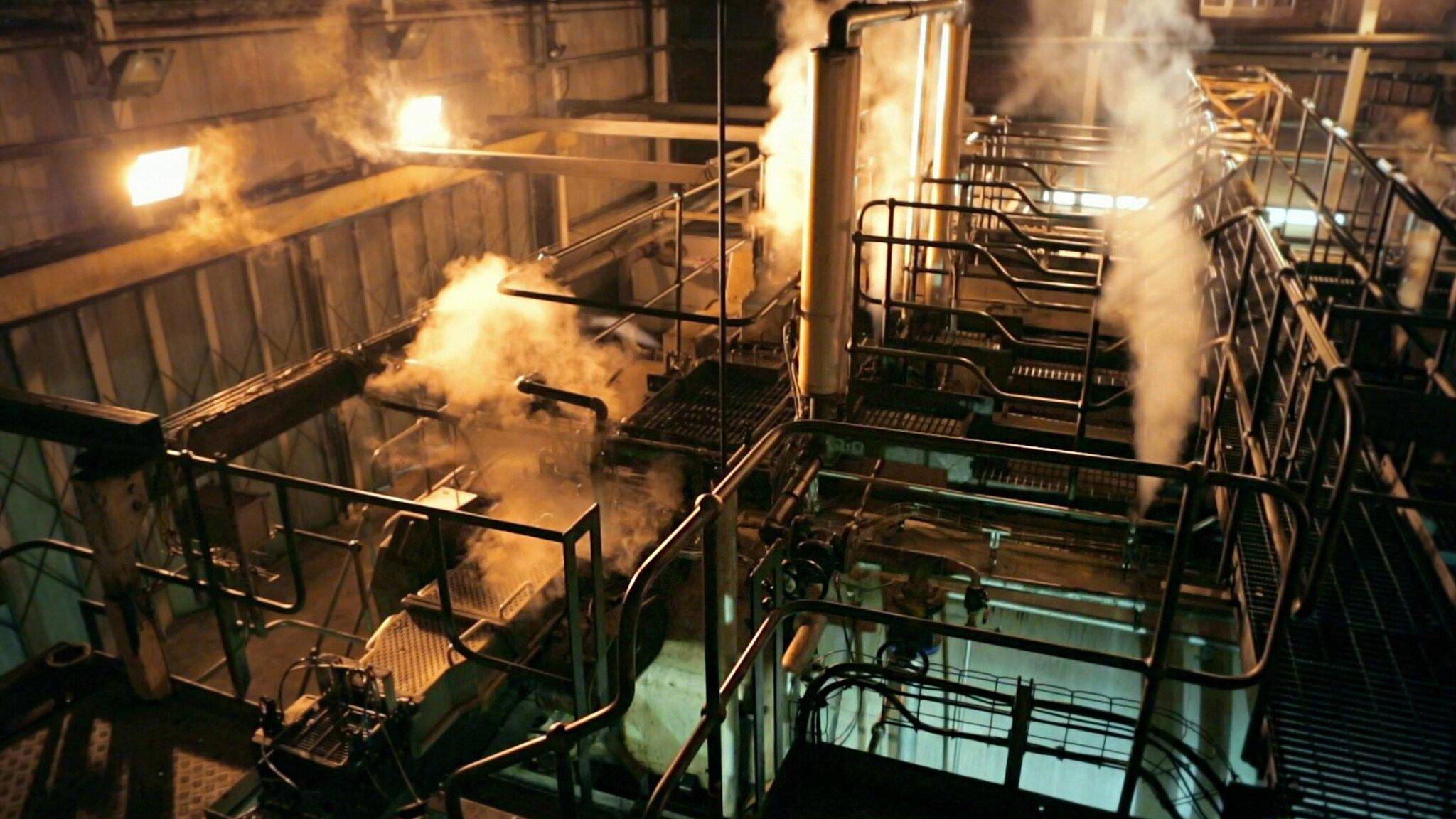 Fabriken inifrån