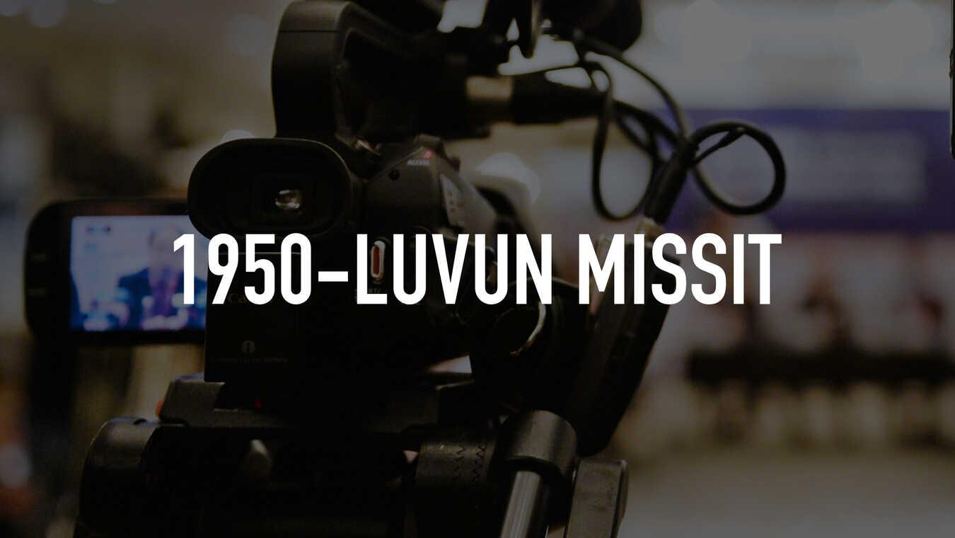 1950-luvun missit