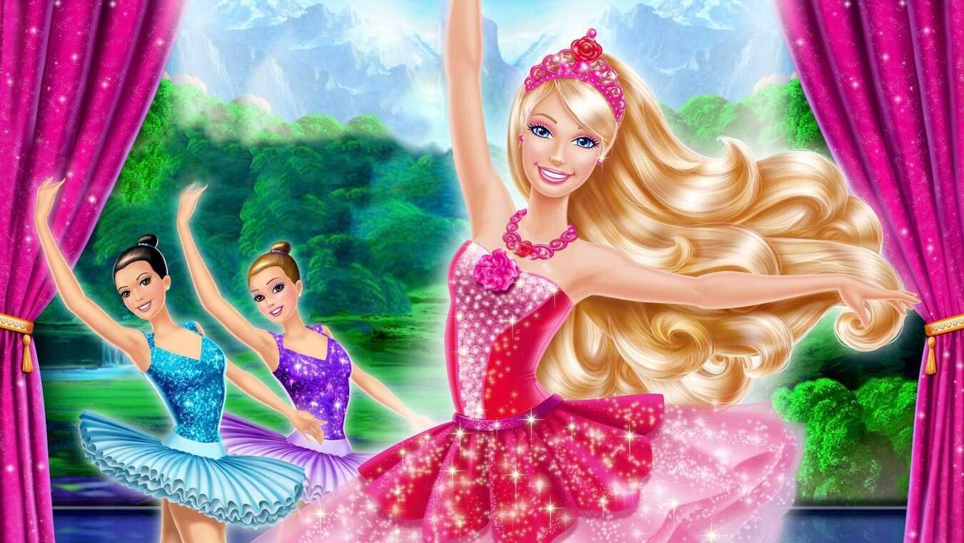 Barbie och de rosa balettskorna