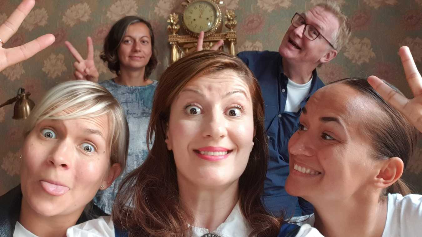Blott Sverige svenska komedienner har