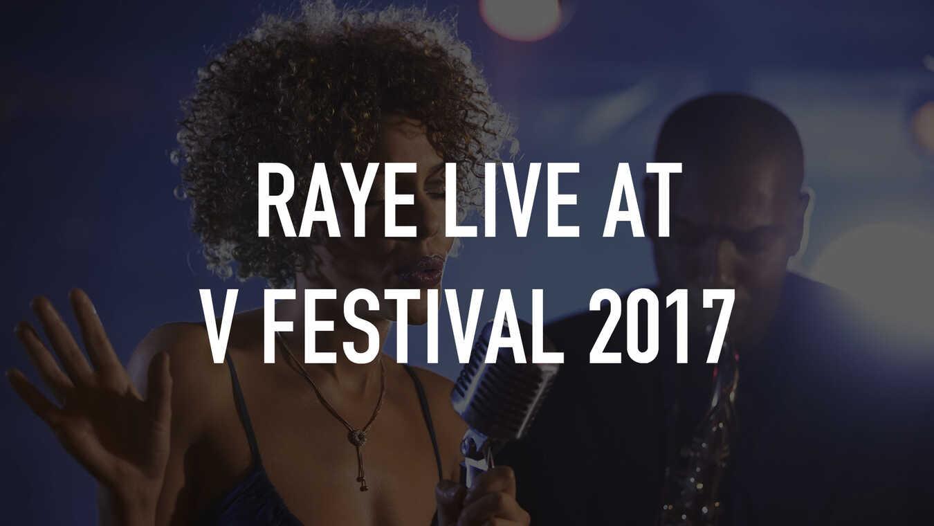 Raye Live at V Festival 2017
