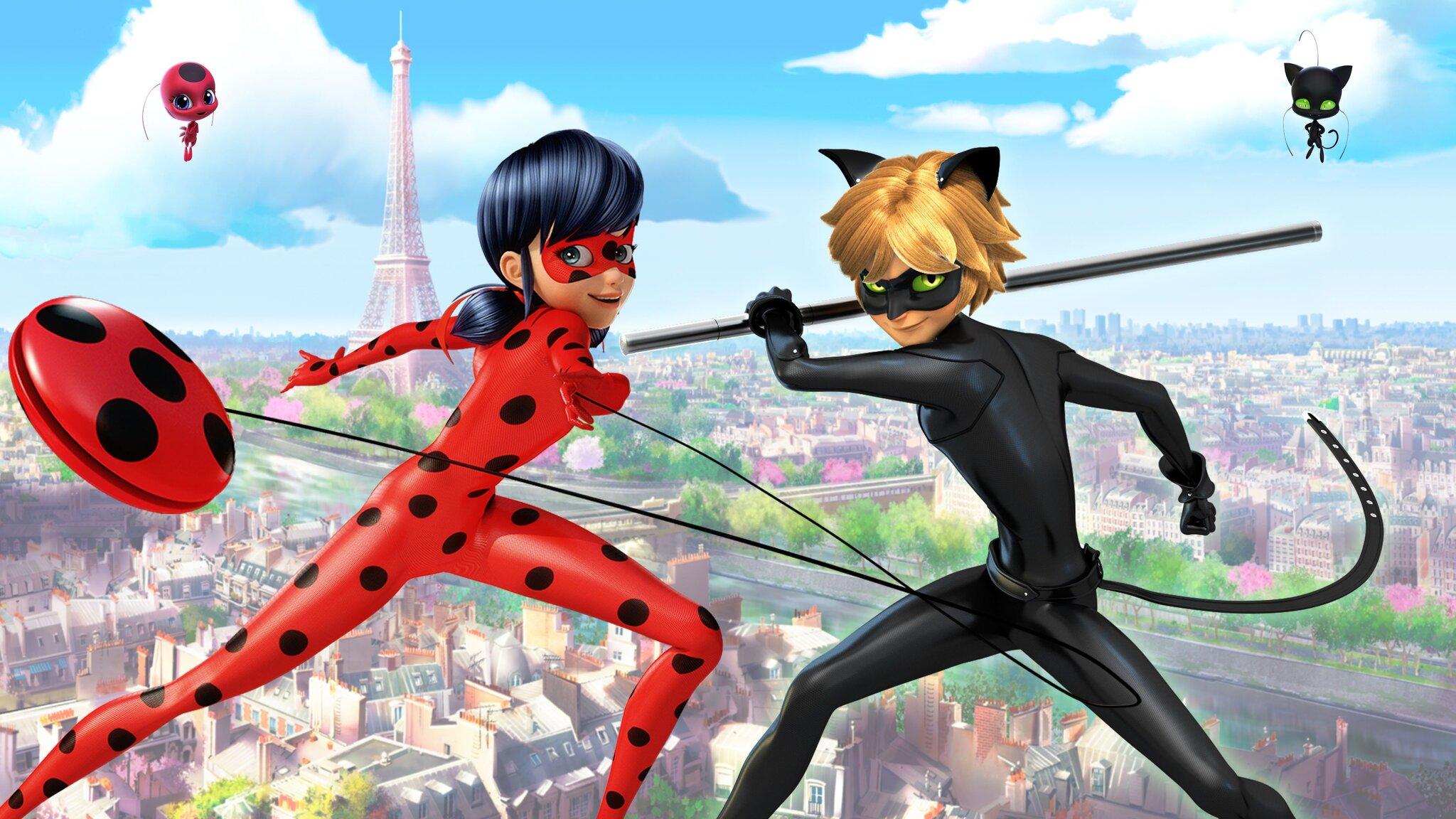 Miraculous: Ladybug & Cat Noir på äventyr