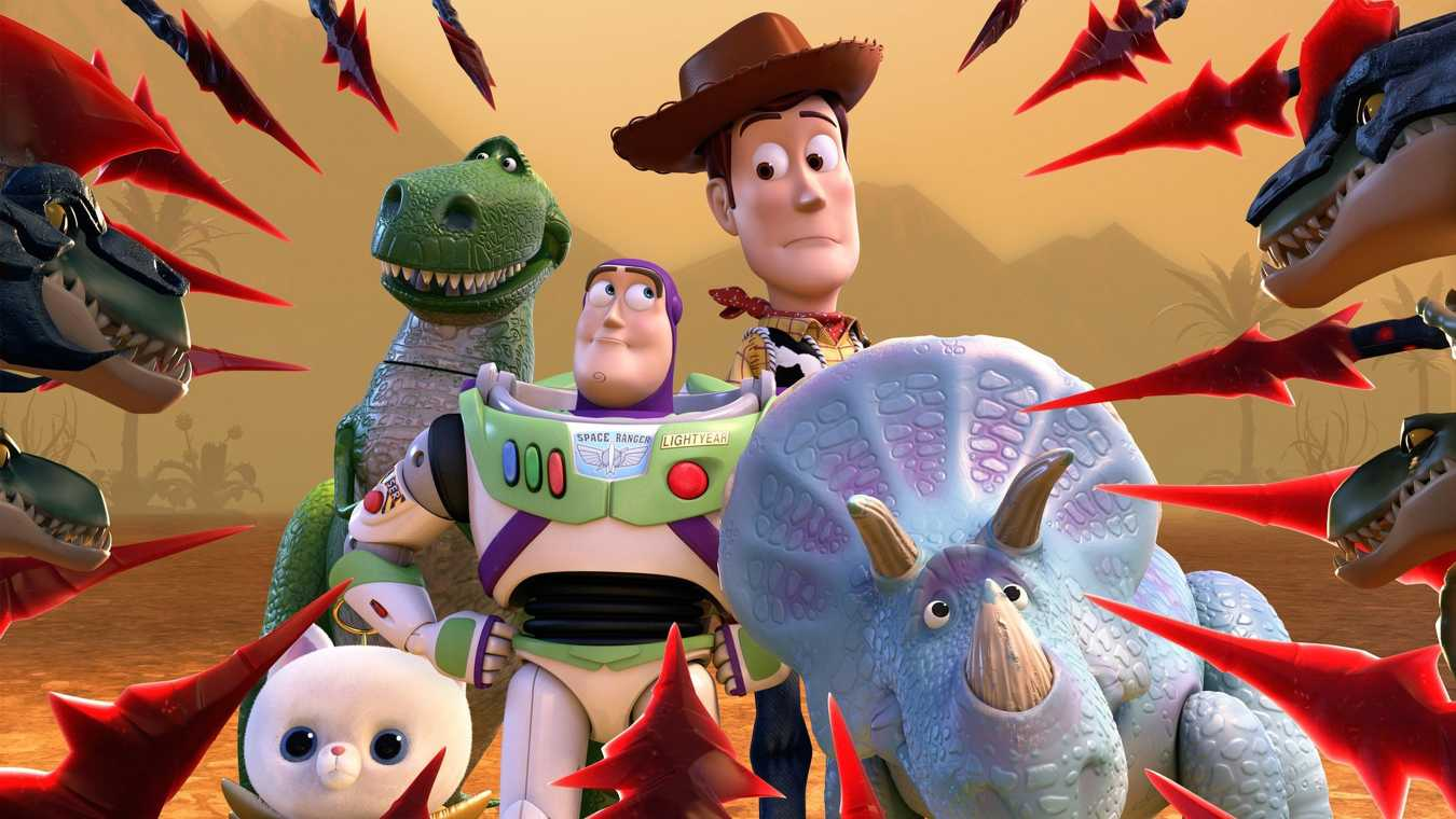 Toy Story fast i forntiden