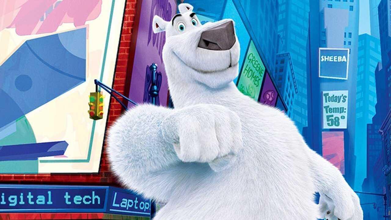 En Isbjörn i New York