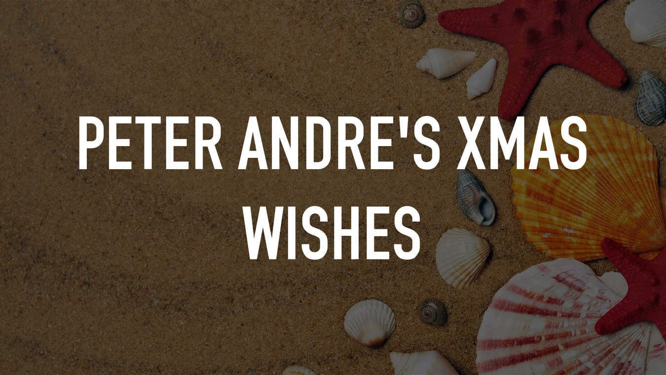 Peter Andre's Xmas Wishes