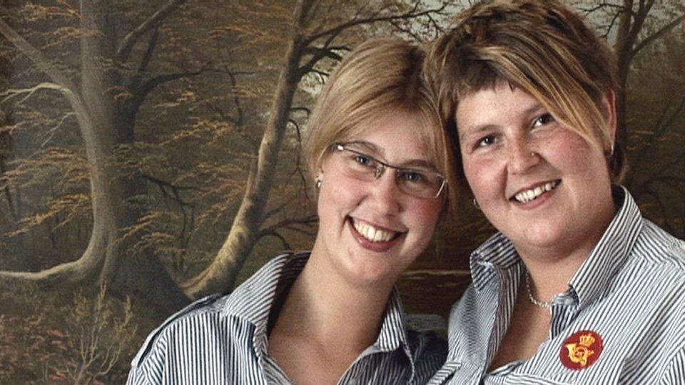 Mødre går lesbisk